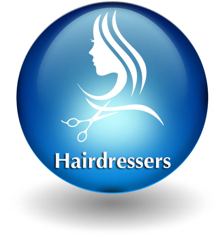 Hairdresser button 2