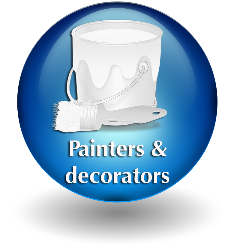 Painter & decorator button 2