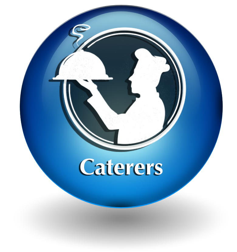 Caterers button