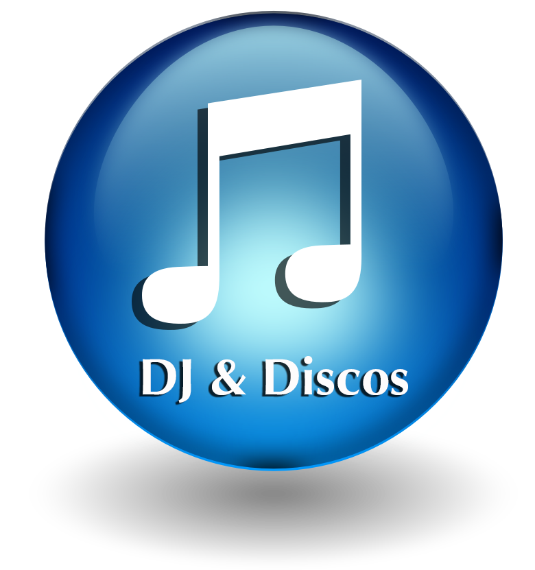 DJ & Discos button
