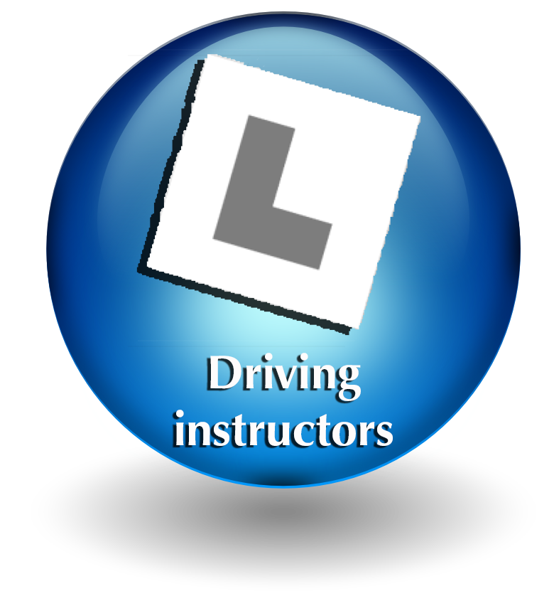 Driving instructor button
