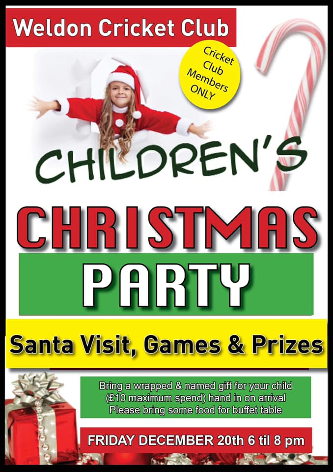 cricket christmas party