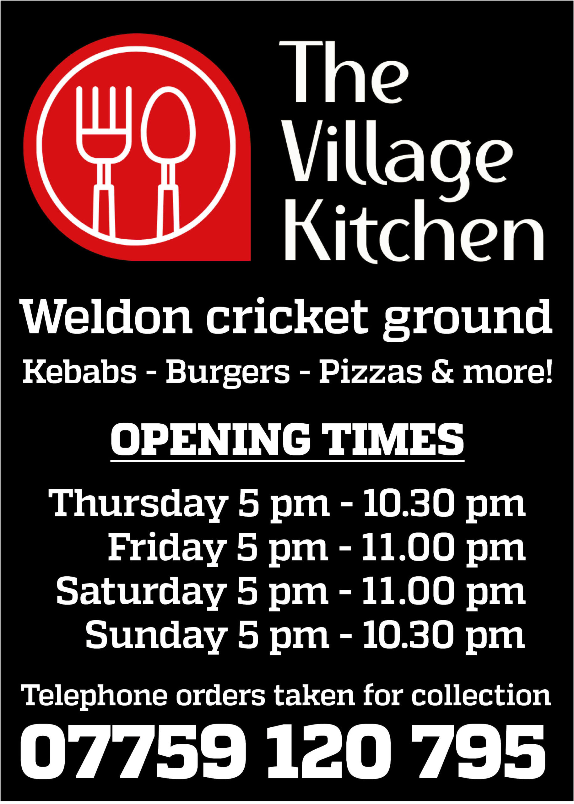 The Village Kitchen sidebar