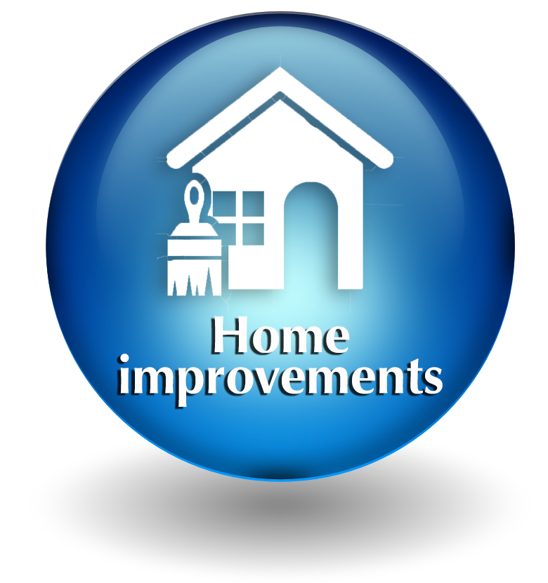 Home improvements button