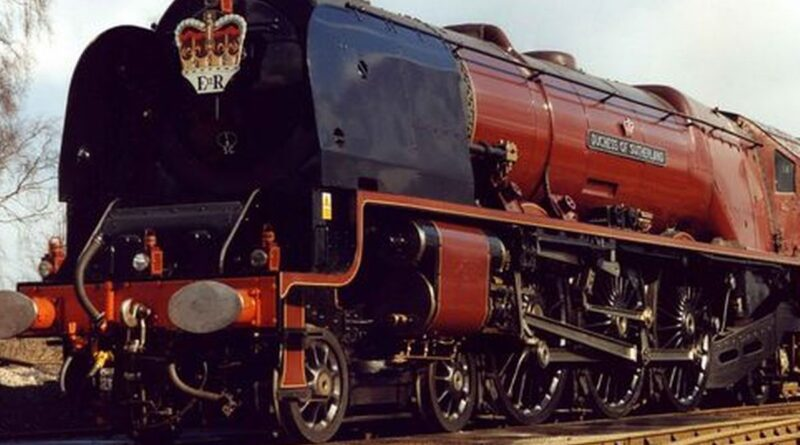 The Duchess of Sutherland coming to us…