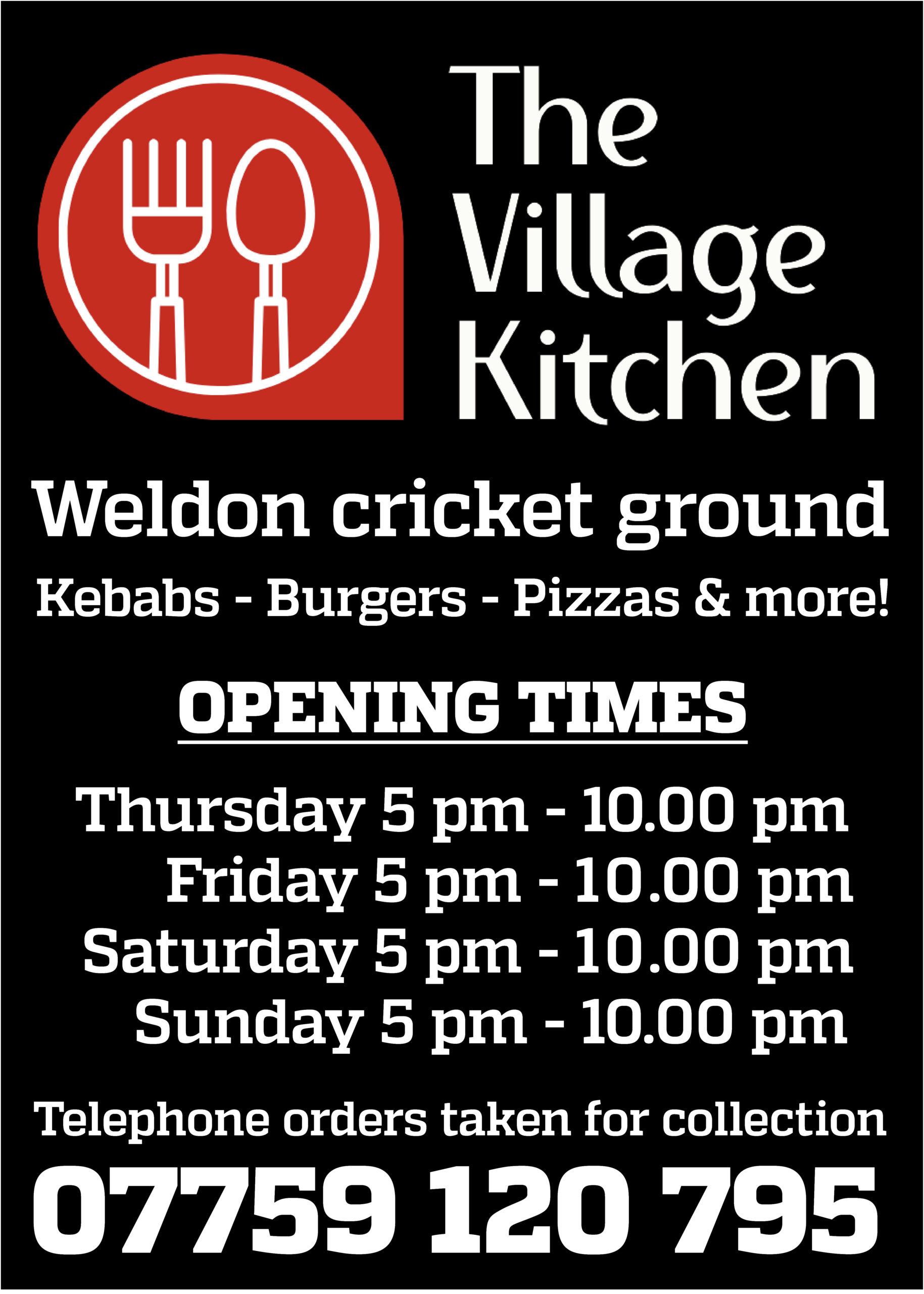 The Village kitchen Sidebar Ad