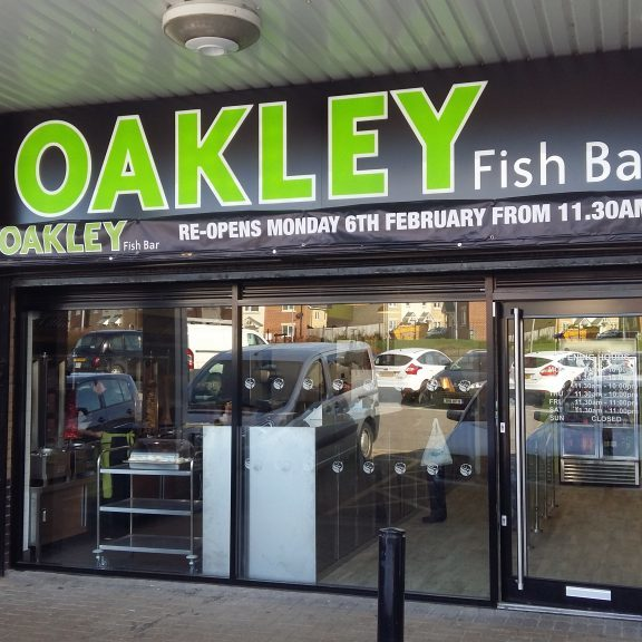 Oakley fish bar corby