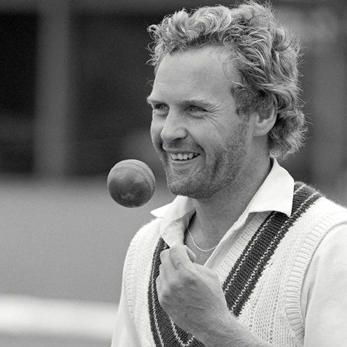 LONDON - MAY 14: Rodney Hogg (Australia) practising in the nets at Lord's at the start of the 1981 Tour. (Photo by Patrick Eagar/Patrick Eagar Collection via Getty Images)