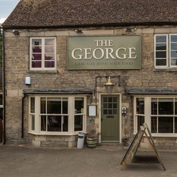 george inn oundle