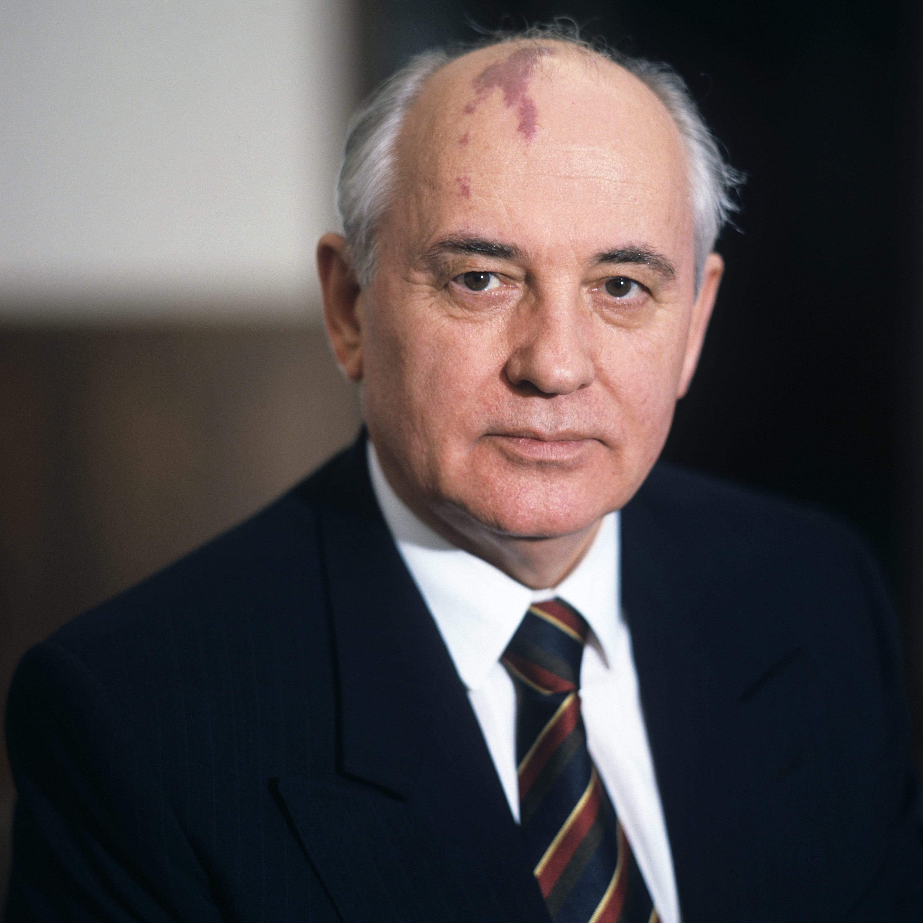 MOSCOW, RUSSIA: General Secretary of the Central Committee of the Communist Party of the Soviet Union Mikhail Gorbachev in the mid 80's in Moscow, Russia. From Ogonyek magazine archive. (Photo by Kommersant Photo via Getty Images)