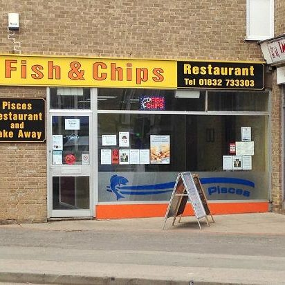 pisces-fish-chips thrapston